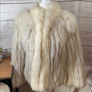 Saga Fox Vintage Fox Fur Coat